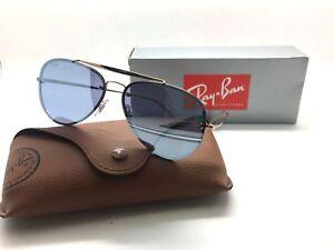bfe58c3d82d Ray-Ban flat lens BLAZE RB3584N 9053 1U Bronze Copper Violet Mirror ...
