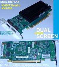 NVIDIA Quadro NVS-295 Dual-port CUDA hp  dell 508286-002 578226-001 0X175K 0175K