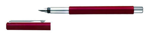New Genuine Parker Vector Standard CT Fine Fountain Pen Red Stainless steel,Gift