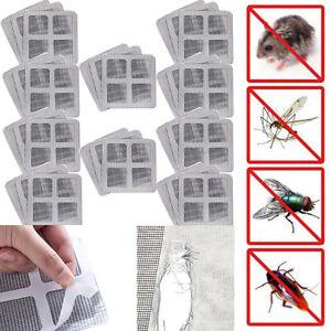 Details about Universal Window Door Screen Repair Netting Mesh Net Hole  Tear Patch Stickers