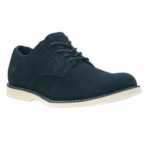 Timberland Men's Stormbuck Lite Oxford Navy Blue Suede Style 9021B