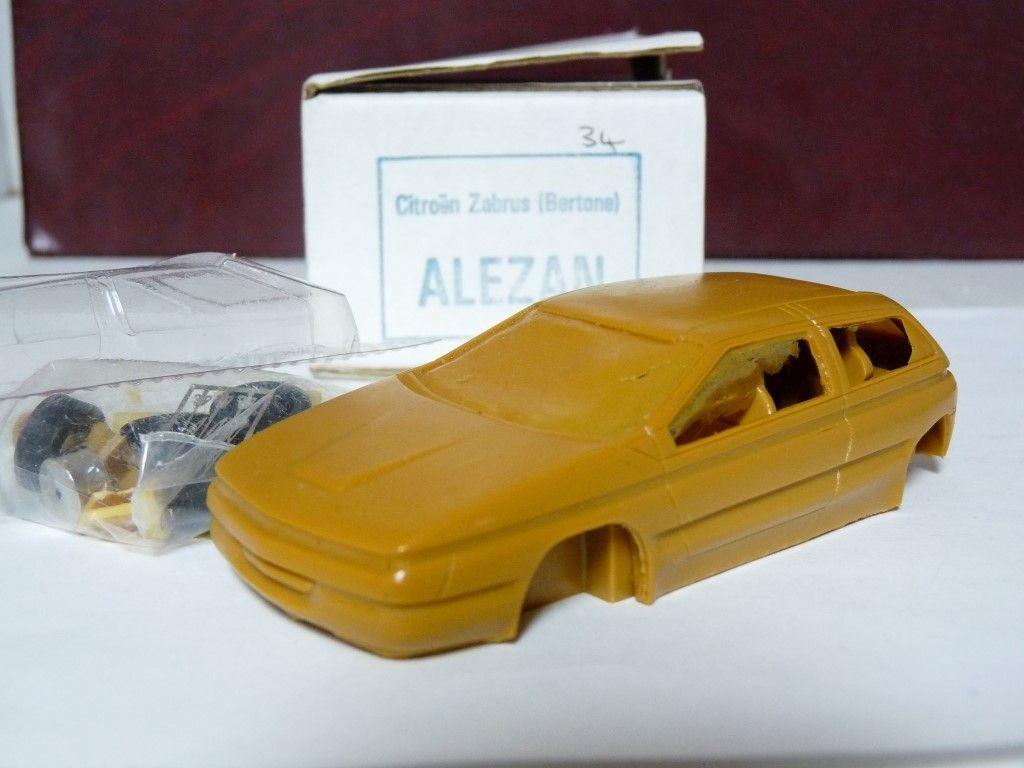 Alezan 34 1  43 1994 Citroen Zabrus Bertone Concept hkonsts Handmade modelllllerler bil Kit