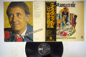 OST(FRANK POURCEL) LIVE & LET DIE ODEON EOP-80918 Japan OBI VINYL LP