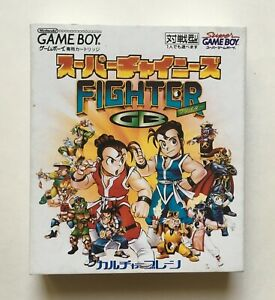 Super-Chinese-Fighter-GB-Nintendo-Game-Boy-Complete-in-Box-Very-Rare-Vintage