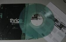 THRICE - The Illusion Of Safety *LP* LIMITED GREEN VINYL *SIGNED* Dustin Kensrue