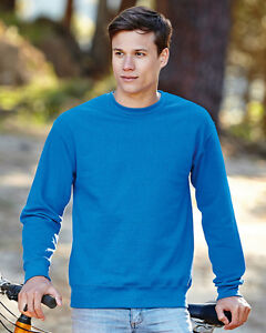 Fruit-of-the-Loom-62202-Set-in-Sweatshirt-Jumper-Pullover-Size-S-3XL-11-Colours