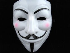 Fashion Cosplay Party V FOR Vendetta Anonymous Guys funny Mask Halloween 2Pcs