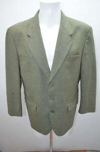 Ted Lapidus Veste Homme Costume 52 T52 L Vert Ebay