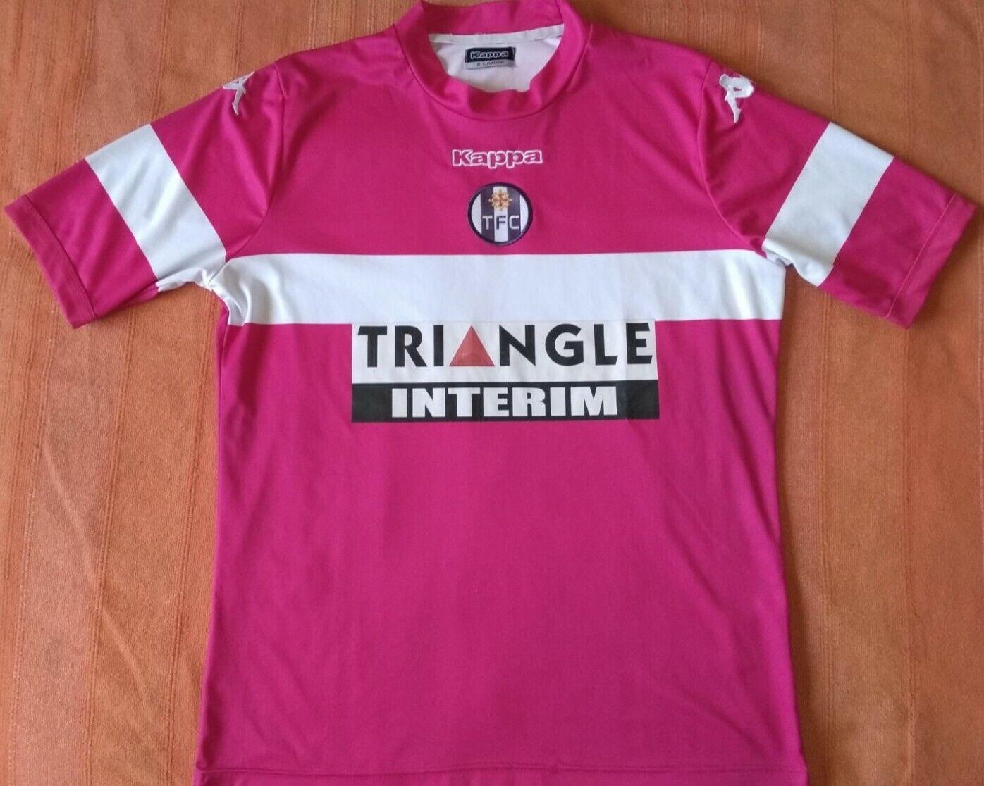 Camiseta Maillot Shirt TOULOUSE Kappa away Season 2013 Diuominiione XL Vintage