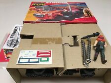 Kenner M.A.S.K. Stinger Complete In Box With Insert Sticker Sheet Manual Papers