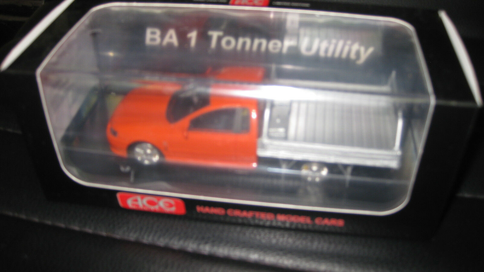1 43 ACE MODEL CARS FORD FALCON BA 1 TONNER UTE BLOOD orange LTD EDITION