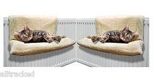 1 PAIR CAT DOG RADIATOR BED WARM FLEECE BEDS BASKET CRADLE HAMMOCK