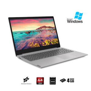 Notebook-Lenovo-Silver-pc-portatile-15-6-034-AMD-A4-Ram-4Gb-SSd-256Gb-Windows-10-Pro