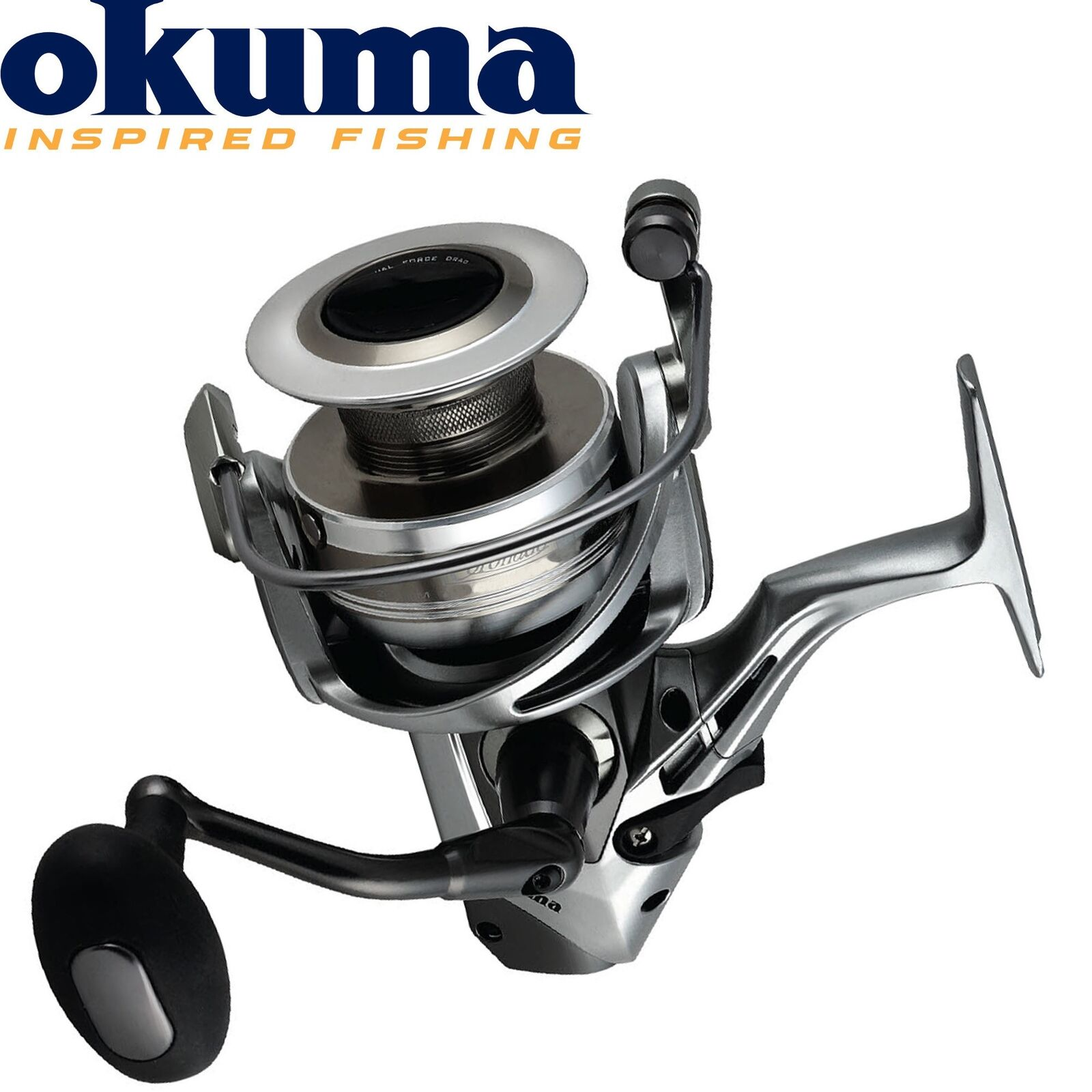 Okuma Coronardo CDX-60 - Stationärrolle mit Freilauffunktion, Karpfen Angelrolle