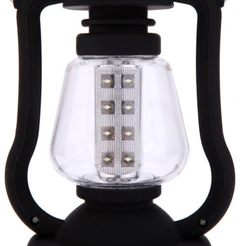 Lixada Campinglampe Solarleuchte Aufladbar+Dynamo Campinglaterne Zeltlampe T7M5