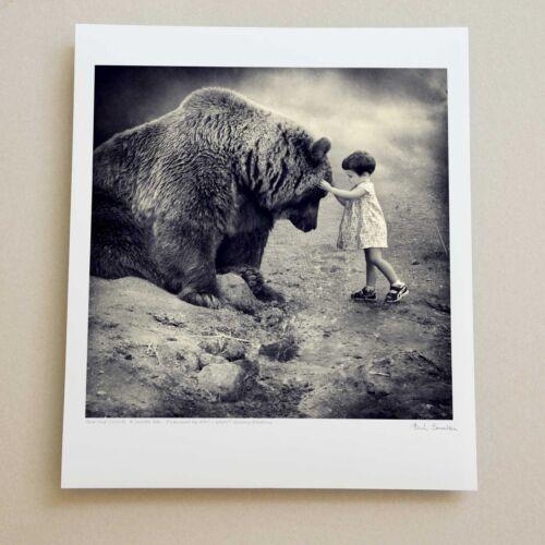 SAROLTA BAN Original Fine ART Photograph Girl /& Bear SIGNED Ltd Edition Print
