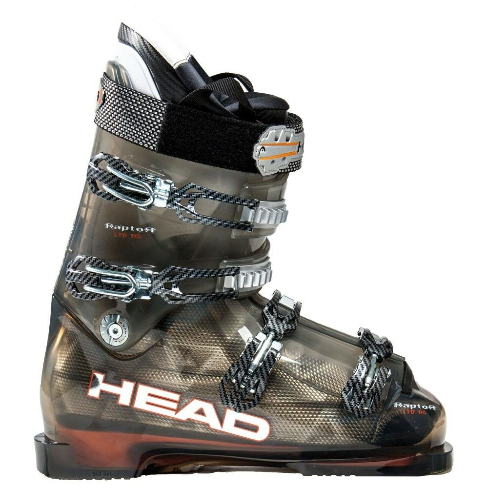 2010 Head Raptor LTD RS Anthracite orange 23.0 Men's Ski Boots