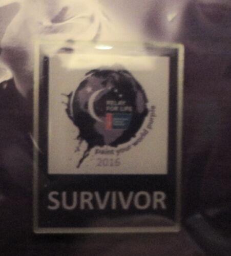 Survivor /& Caretaker Lapel PINs Relay for Life