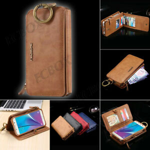 Flip Leather Handbag Business Wallet Card Slot Case Cover For Various Cell Phone