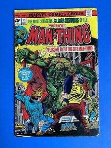 Comics-Man-Thing-19-July-1975-Bronze-Age-Marvel