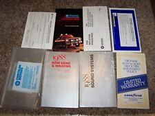 1988 Dodge Ram Van & Wagon Owner Operator Manual B150 B250 B350 3.9L 5.2L V6 V8