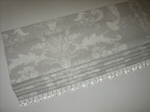 New Laura Ashley Josette Toile Dove Grey Linen Fabric
