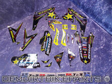 SUZUKI Graphics Kit Rmz250 Rm-z 450 Factory Rockstar Race Decals Stickers 2010-