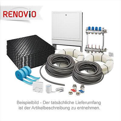 Fußbodenheizung Noppenplatte mit 30 mm Wärmedämmung WLG 040-11,2 bis 123,2 m²