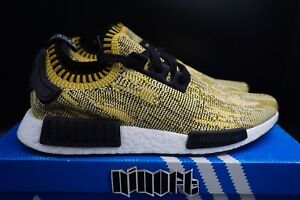 Details about Adidas NMD R1 PK Yellow Gold Camo SAMPLE S42131 NEW