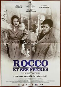 Plakat Rocco Und Ses Freres Luchino Visconti Alain Delon Annie Girardot 40x60cm