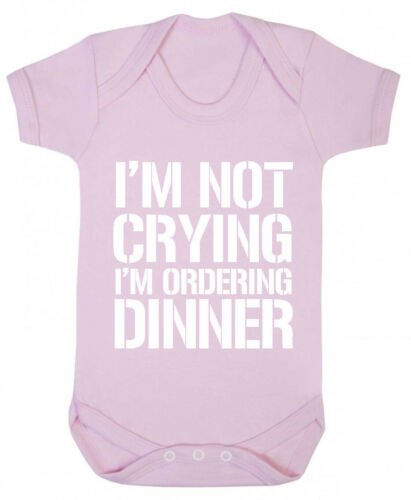 Funny Gifts for Baby Shower Newborn Baby Boys Girls I/'m Not Crying Bodysuit