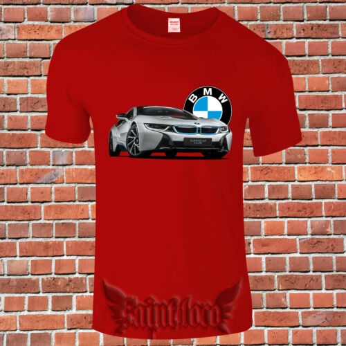 Limited Personal luxury car 2019 BMW I8 Supercar T-Shirt USA Size 3XL S