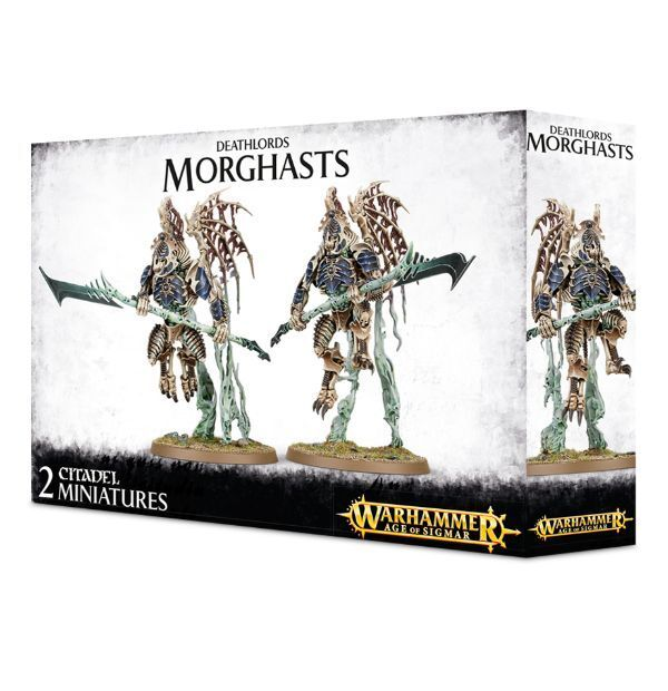 DEATHLORDS MORGHASTS - WARHAMMER SIGMAR - GAMES WORKSHOP