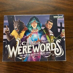 Werewords by Bezier Games Bluffing Party Word Game Brand New