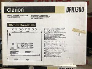 New-Old-School-Clarion-DPH7300-Digital-Graphic-EQ-DSP-Crossover-Rare-NOS-NIB