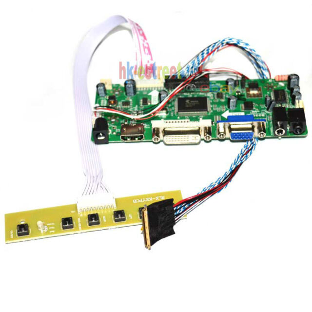 Audio LCD Controller Driver Board HDMI DVI VGA for Ltn173kt01 1600*900 40pin