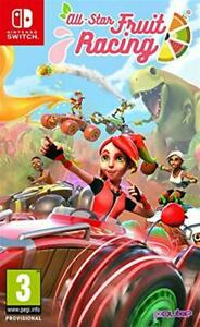 All-Star Fruit Racing Nintendo SWITCH Neuf sous blister