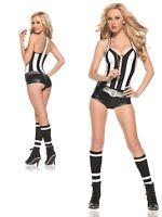 Very Sexy Referee Adult Womens Costume HALLOWEEN