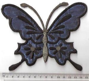 IRON ON BLUE HOTFIX Beautiful Butterfly MOTIF
