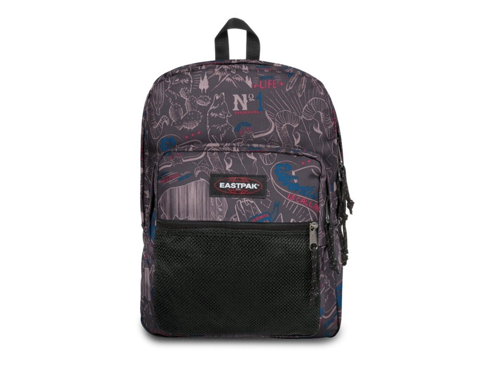 ZAINO SCUOLA  EASTPAK  EK06049T  PINNACLE WEST Blau