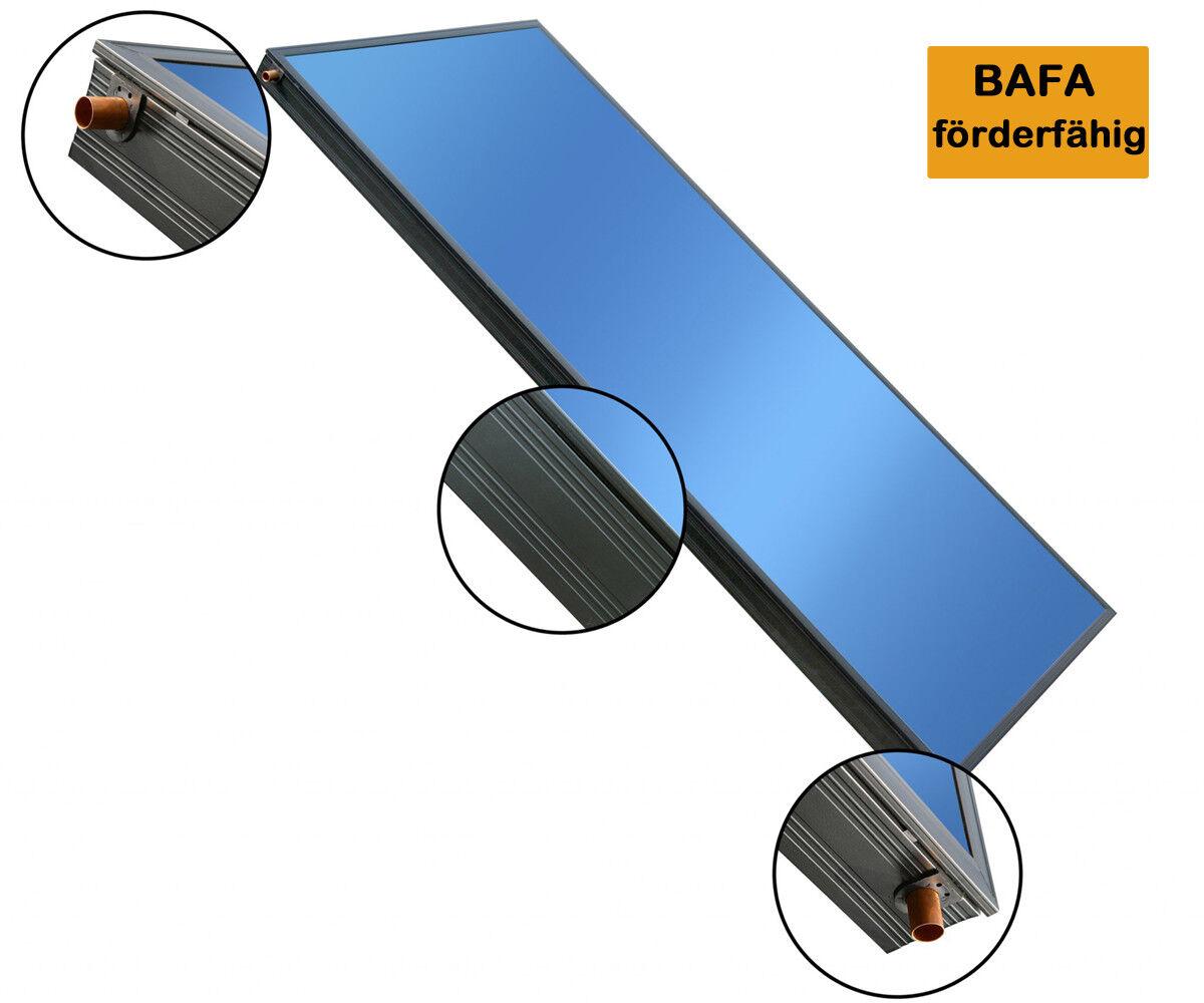 Hochleistungs Solarkollektor Flachkollektor 2,02 qm BASICX 2.0 4C