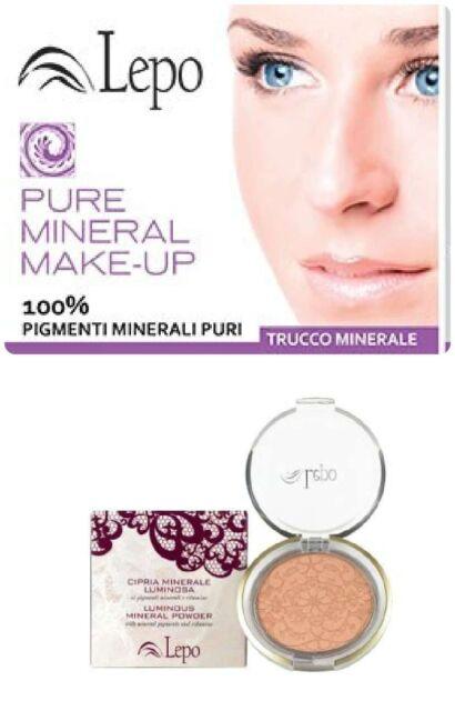 Lepo CIPRIA MINERALE-LUMINOSA Pigmenti Minerali+Vitamine Vegan Ok Nickel tested