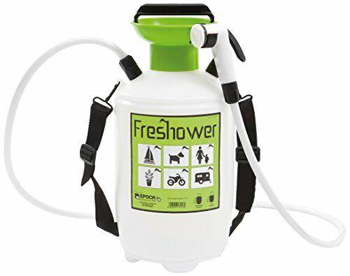 Freshower 7 8311.S00 Douche Portative Plastique Transparent//Vert//Noir 19 x  ...