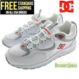 DC-Skateboard-Shoes-Kalis-Lite-White-Red