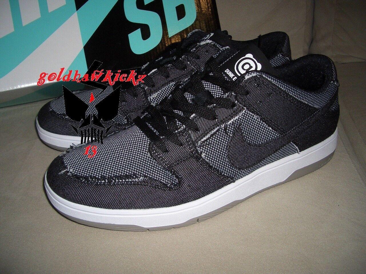 Nike Sb Zoom Dunk Low Elite Qs Medicom Toy Bearbrick Denim 877063 002 Be@rbrick