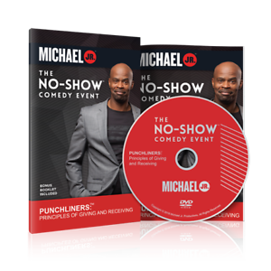 No-Show-Comedy-Event-with-Michael-Jr-DVD-Bonus-Booklet-Included-NEW