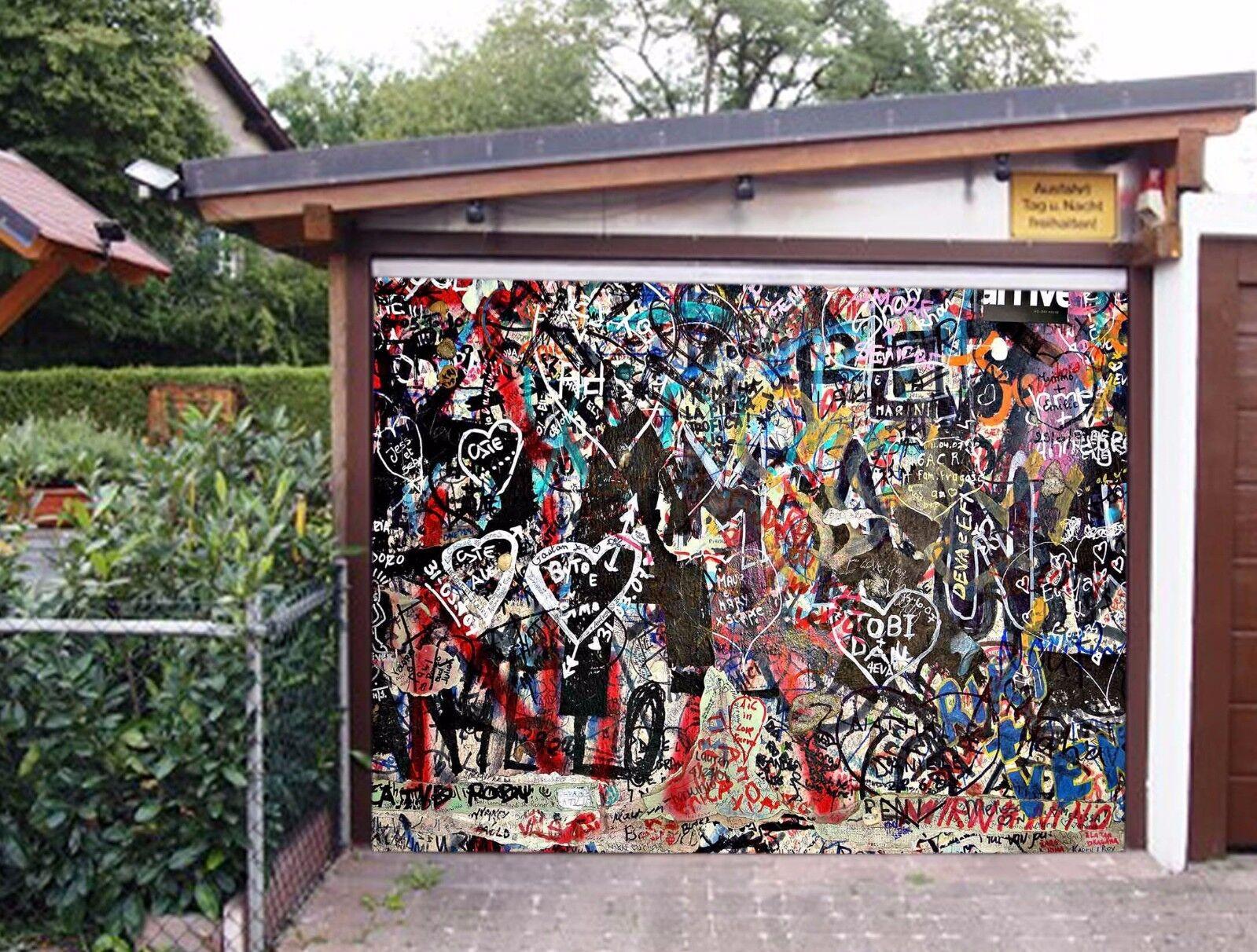 3D Art Style 8943 Garage Door Murals Wall Print Decal Wall AJ WALLPAPER UK Carly