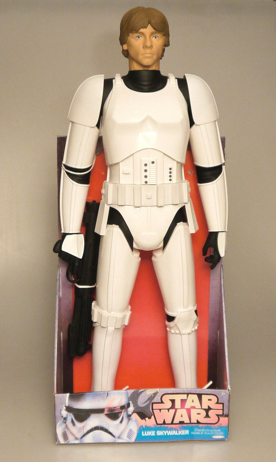 (PRL) STAR WARS LUKE SKYWALKER STORMTROOPER ARMOR JAKKS PACIFIC COLLECTION