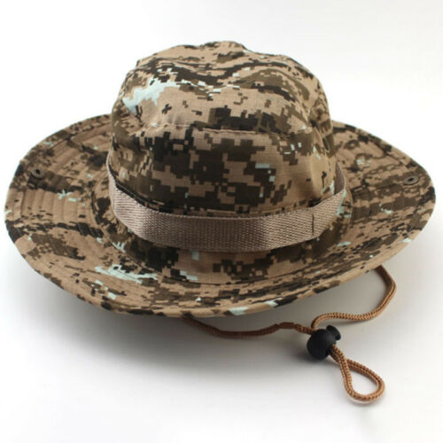 Womens Mens  Hunting Fishing Outdoor Sport Wide Brim Cap Summer Hat UV Protect