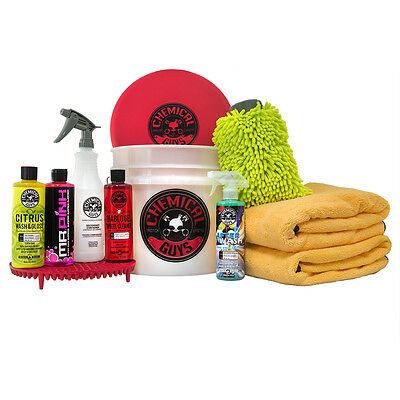 Chemical Guys - Best Car Wash Bucket Kit With Dirt Trap (11 Items) HOL132